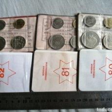 Monedas Juan Carlos I: CARTERITAS SERIE COMPLETA MUNDIAL 82 CON TODAS LAS ESTRELLAS. Lote 207933946