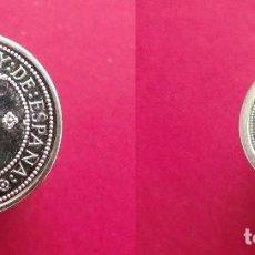 Monedas Juan Carlos I: ESPAÑA V CENTENARIO - 100 Y 200 PESETAS - 1989. Lote 208245575