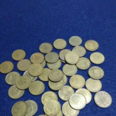 Monedas Juan Carlos I: LOTE DE 43 MONEDAS DE 1 PST JUAN CARLOS I SIN DETERMINAR. Lote 208286485