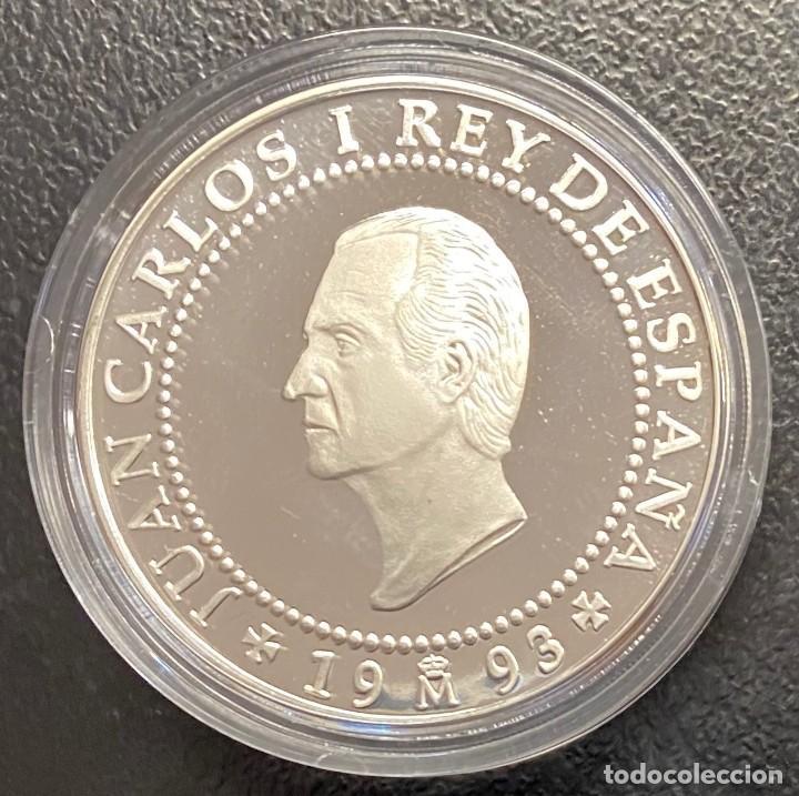 ESPAÑA: MONEDA DE 2000 PESETAS AÑO 1993 (Numismática - España Modernas y Contemporáneas - Juan Carlos I)