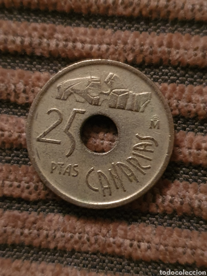 Monedas Juan Carlos I: Lote de cuatro monedas - Foto 2 - 209949302