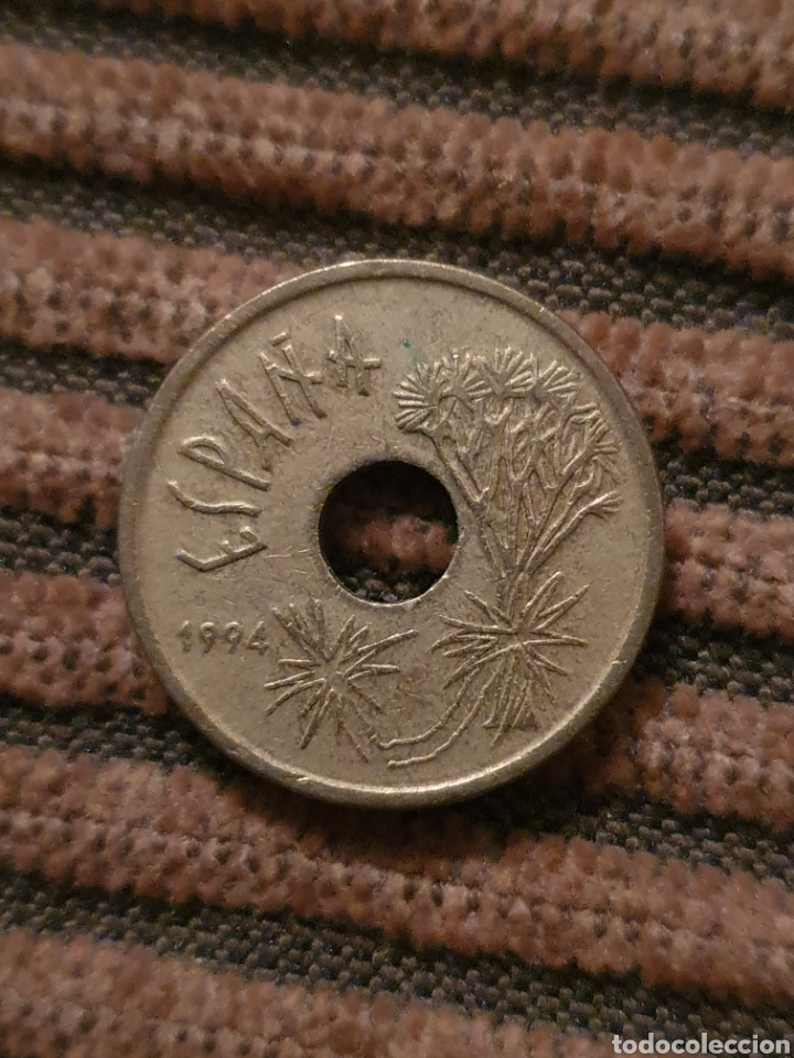 LOTE DE CUATRO MONEDAS (Numismática - España Modernas y Contemporáneas - Juan Carlos I)