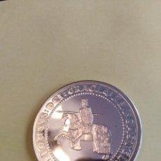 Monedas Juan Carlos I: MONEDA DE PLATA CINCO 1990 5 ECU ALFONSO X ESPAÑA. PLATA. SIN CAJA NI CERTIFICADO. Lote 210445335