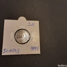 Monedas Juan Carlos I: MONEDA 50 PESETAS 1997 JUAN CARLOS I SIN CIRCULAR SACADA DE LA BOLSA ORIGINAL FNMT ESPAÑA. Lote 210613015