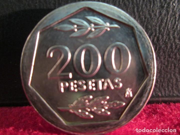 Monedas Juan Carlos I: 200 PESETAS 1986 SIN CIRCULAR - Foto 2 - 212098072