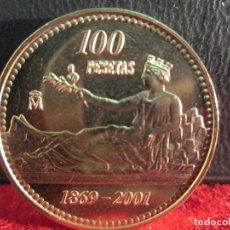 Monedas Juan Carlos I: 100 PESETAS 2001 SIN CIRCULAR. Lote 242346510
