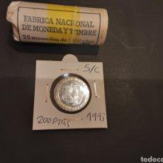 Monedas Juan Carlos I: MONEDA 200 PESETAS 1993 JUAN CARLOS I S/C SACADA DE CARTUCHO .LUÍS VIVES ESPAÑA. Lote 246104105