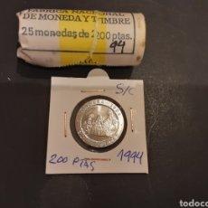 Monedas Juan Carlos I: MONEDA 200 PESETAS 1994 JUAN CARLOS I S/C SACADA DE CARTUCHO ESPAÑA. Lote 246104135