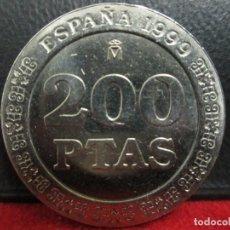 Monedas Juan Carlos I: 200 PESETAS 1989 SIN CIRCULAR. Lote 212237350