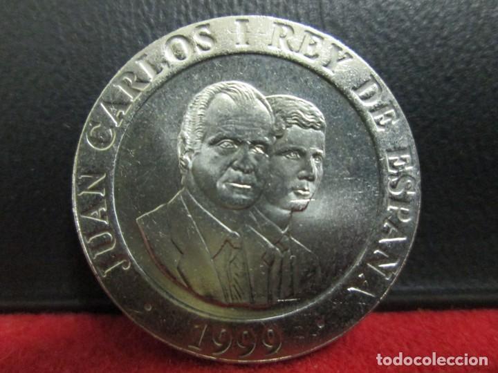 Monedas Juan Carlos I: 200 PESETAS 1989 SIN CIRCULAR - Foto 2 - 212237350