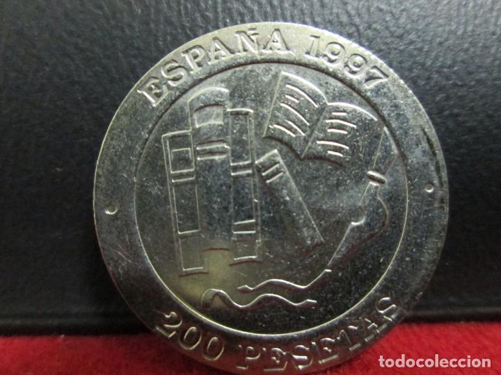 Monedas Juan Carlos I: 200 PESETAS 1997 SIN CIRCULAR - Foto 2 - 212345486