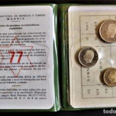 Monedas Juan Carlos I: ESPAÑA MONEDAS JUAN CARLOS I 1975 SERIE NUMISMÁTICA CARPETA COLECCIÓN ESTRELLA 77. Lote 212619386