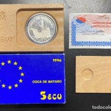Monedas Juan Carlos I: ESPAÑA: MONEDA DE 5 ECUS AÑO 1996. Lote 214007305
