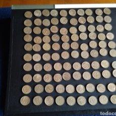 Monedas Juan Carlos I: 100 MONEDAS DE 5 PESETAS AÑOS 90. LAS DE LA FOTO.. Lote 214095982