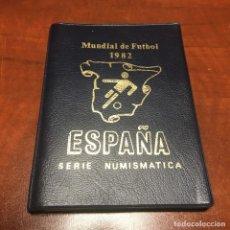 Monedas Juan Carlos I: MONEDAS ESPAÑOLAS MUNDIAL DE FUTBOL 1982 - CARTERA 6 MONEDAS ESTRELLA 1980. Lote 263215500