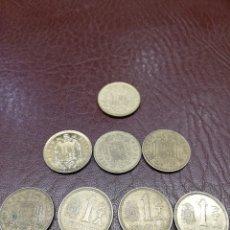 Monedas Juan Carlos I: 8 MONEDAS DE 1 PESETA DE *76, 77, 78, 79, 80 Y MUNDIAL * 80, 81 Y 82. Lote 214846241