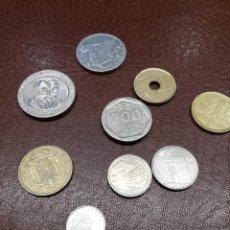 Monedas Juan Carlos I: 9 MONEDAS PESETAS ESPAÑOLAS DEL REINADO DE DON JUAN CARLOS I DESDE 1976 A 1997. Lote 214850020