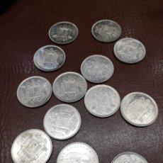 Monedas Juan Carlos I: 13 MONEDAS DE 100 PESETAS DE 1975 *76 DON JUAN CARLOS I IDEALES PARA ARRAS MATRIMONIALES. Lote 214851336