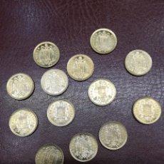 Monedas Juan Carlos I: 13 MONEDAS DE 1 PESETA DE 1975 * 76 JUAN CARLOS I IDEALES PARA ARRAS MATRIMONIALES. Lote 214851516