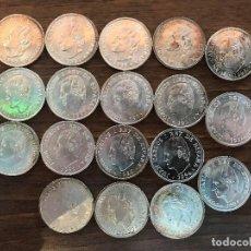 Monedas Juan Carlos I: LOTE DE 19 MONEDAS DE PLATA DE 2000 PTAS. AÑOS 1994, 1995, 1996 Y 1998.. Lote 215107907