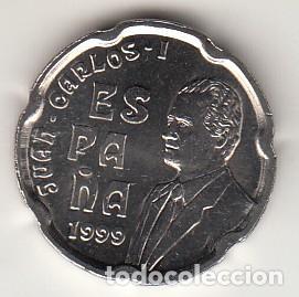 .MONEDA ESPAÑA JUAN CARLOS I 50 PTAS 1999 SIN CIRCULAR (Numismática - España Modernas y Contemporáneas - Juan Carlos I)