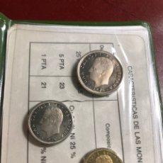 Monedas Juan Carlos I: CARTERA OFICIAL FNMT 1977 DE PRUEBAS NUMISMATICAS. Lote 216620583