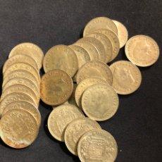 Monedas Juan Carlos I: INTERESANTE LOTE DE 27 MONEDAS DE 1 PESETA DE REY JUAN CARLOS 1. Lote 216622735