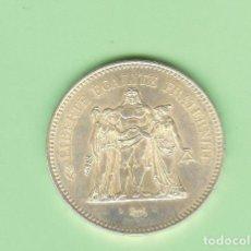 Monedas Juan Carlos I: PLATA-FRANCIA. 50 FRANCS 1975. 30 GRAMOS DE LEY 0,900. KM#941. Lote 217594350