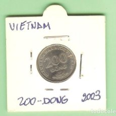 Monedas Juan Carlos I: VIETNAM. 200 DONG 2003. ACERO BAÑADO EN NÍQUEL. KM#71. Lote 217600561