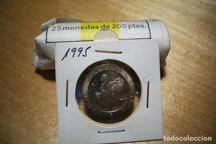 LUK. 200 PESETAS 1995 SIN CIRCULAR SACADO DE CARTUCHO (Numismática - España Modernas y Contemporáneas - Juan Carlos I)