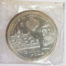 Monedas Juan Carlos I: MONEDA DE PLATA DE 2.000 PESETAS DE ESPAÑA 1998 FELIPE II. Lote 218142673