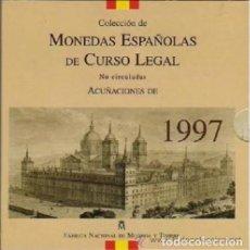 Monedas Juan Carlos I: CARTERA SET OFICIAL FNMT MONEDAS 1997. Lote 218223600