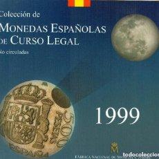 Monedas Juan Carlos I: CARTERA SET OFICIAL FNMT MONEDAS 1999. Lote 218224167