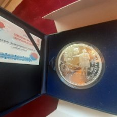 Moedas Juan Carlos I: 50 EUROS 2006 PLATA SC UNC CRISTOBAL COLON. Lote 218792728