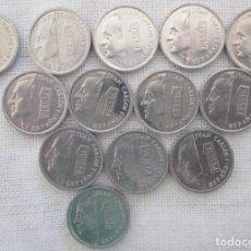 Monedas Juan Carlos I: MONEDAS DE 1 PESETA SERIE DESDE 1989 HASTA 2001 JUAN CARLOS I. Lote 220088815