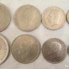 Monedas Juan Carlos I: PESETAS 50, 25, 5 Y 1 DE 1980 DOS SERIES *80 Y *81.. Lote 220127058