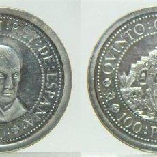Monnaies Juan Carlos I: MONEDA DE 100 PESETAS 1990 QUINTO CENTENARIO PLATA. Lote 220441023