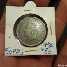 Monedas Juan Carlos I: MONEDA 50 PESETAS 1980 ESTRELLA 80 JUAN CARLOS I ESPAÑA. Lote 220703975