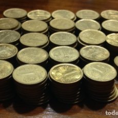 Monedas Juan Carlos I: GRAN LOTE DE 235 MONEDAS DE 1 PESETA, ESPAÑA 82, CIRCULADAS, BUEN ESTADO.. Lote 220756508