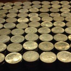 Monedas Juan Carlos I: GRAN LOTE DE 1040 MONEDAS 1 PESETA, REY JUAN CARLOS, VARIOS AÑOS, CIRCULADAS, BUEN ESTADO. Lote 220757481