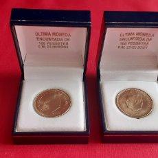 Monedas Juan Carlos I: MONEDAS JUAN CARLOS I DE ESPAÑA ULTMAS ENCUNYADA DE 100 PESETAS 0.M.23/III/2001. Lote 221379162