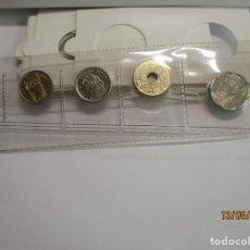 Monedas Juan Carlos I: MONEDAS TIRA DE 5 MONEDAS AÑO 1999 TODAS S/C. Lote 221395622