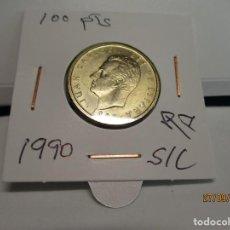 Monedas Juan Carlos I: MONEDA 100 PESETAS JUAN CARLOS I 1990 S/C FLOR DE LIS A ELEGIR. Lote 221397107