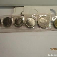 Monedas Juan Carlos I: MONEDA TIRA 6 MONEDAS AÑO 1982 COMPLETO TODAS SC. Lote 221397602