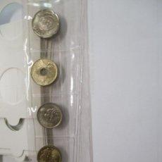 Monedas Juan Carlos I: MONEDAS TIRA DE 5 MONEDAS AÑO 1996 TODAS S/C. Lote 221397961