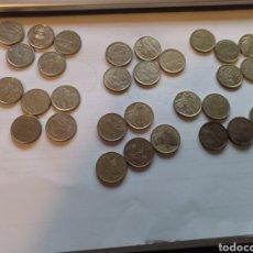 Monedas Juan Carlos I: 30 MONEDAS DE CINCO PESETAS. Lote 221616273