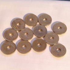 Monedas Juan Carlos I: 12 MONEDAS DE 25 PESETAS. Lote 221616577