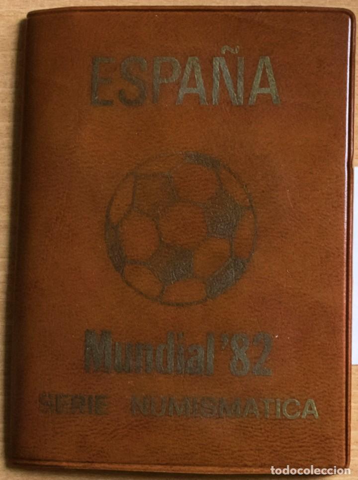 CARTERA OFICIAL DEL LA FNMT SERIE 1980 *81 J.CARLOS (Numismática - España Modernas y Contemporáneas - Juan Carlos I)