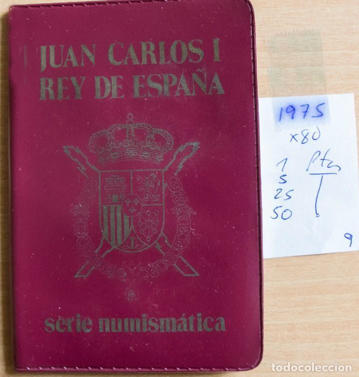 CARTERA SERIE NUMISMATICAS 1975 *80 SIN CIRCULAR (Numismática - España Modernas y Contemporáneas - Juan Carlos I)