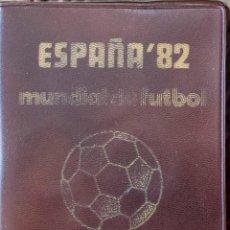 Monedas Juan Carlos I: CARTERA MARRON OSCURO SERIE NUMISMATICAS MUNDIAL DEL FUTBOL 1980 *80 SIN CIRCULAR. Lote 221705235